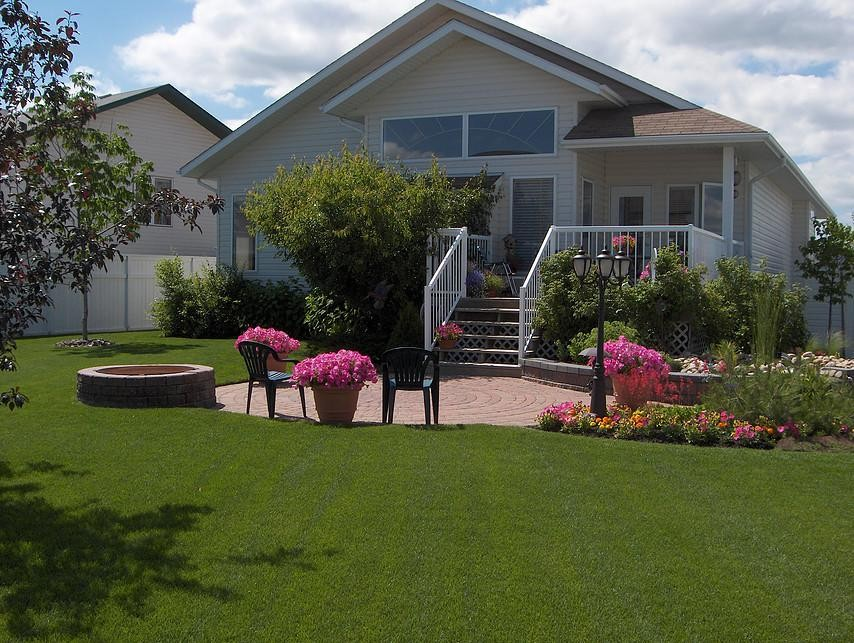 acreage landscaping earthworm landscape design co