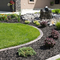 Small yard landscaping including flower garden ideas.